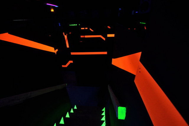 Photo Laser Game Evolution
