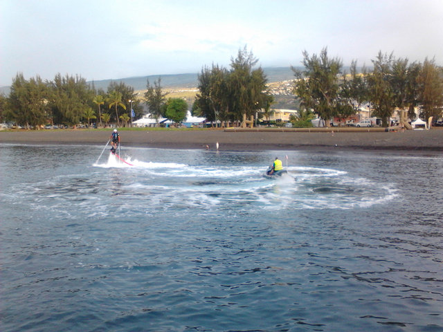 Photo Flyboard Réunion