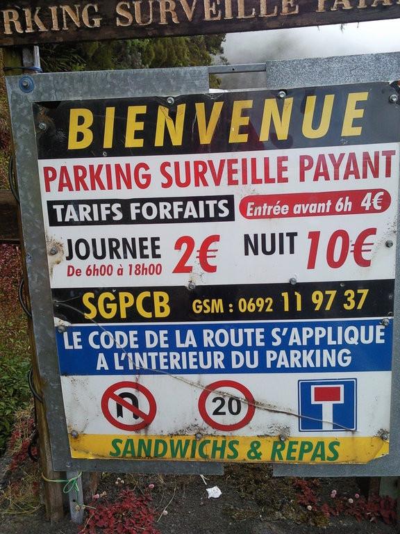 Parking du Petit Col